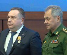 Сергей Шойгу наградил президента ОСК