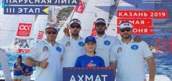 Сборная Чечни «Ахмат» лидирует накануне третьего этапа Национальной парусной Лиги в Казани