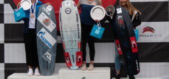 Елена Калинина завоевала серебро на ЧМ по кайтбордингу. В командном зачёте россияне — третьи