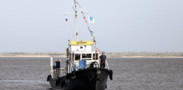 Телеканал OCEAN-TV и Фонд БЕЗ РЕК КАК БЕЗ РУК ищут микропластик в Цимлянском водохранилище
