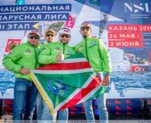 Сборная Чечни «Ахмат» — лидер Национальной парусной Лиги по итогам трех этапов