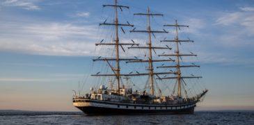Устройство парусного корабля  «Паллада»