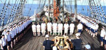 Новости кругосветки: «Седов» пересек экватор