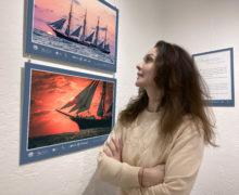 Огненная земля встречает фотовыставку «Аристократы морей»