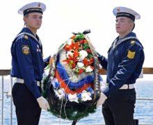 Юнги Молодежной Морской Лиги почтили память жертв Цусимского сражения