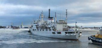 Судно «Адмирал Владимирский» прошло мыс Доброй Надежды в рамках кругосветной экспедиции