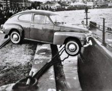 Фото: столкновение автомобиля с подводной лодкой