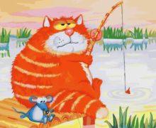 В Абакане будет жить кот-рыбак