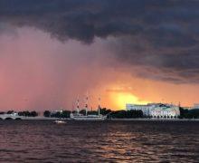 Фото дня: Закат над Невой