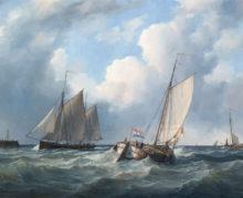 Подняты первые артефакты с корабля XVIII века, затонувшего в акватории Финского залива
