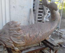 В Мурманской области установили скульптуру кита
