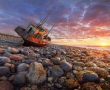 Экологи Севфлота собрали за два месяца 300 т металлолома на острове в Баренцевом море