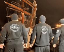 Мировой рекорд по буксировке парусника «Седов» установили в Мурманске