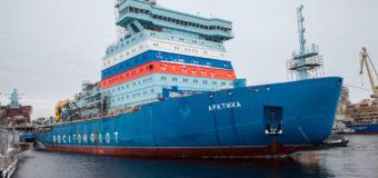 Ледокол «Арктика» начнет ходить по Северному морскому пути
