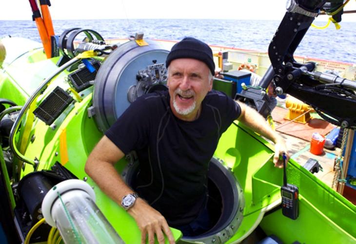 джеймс кэмерон на deepsea challenger