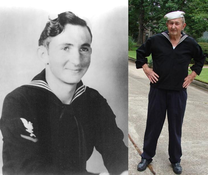 моряк гленн макдаффи с фотографии поцелуй