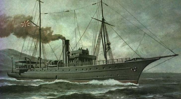 паровая яхта адмирал завойко