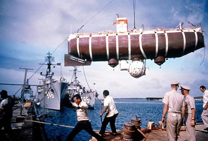глубоководный аппарат триест