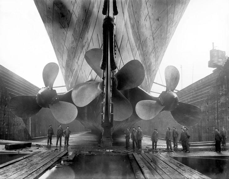 гребной винт Титаника