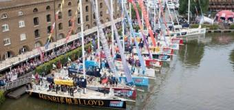 Регата «Clipper Round the World 2014» вернулся в Лондон