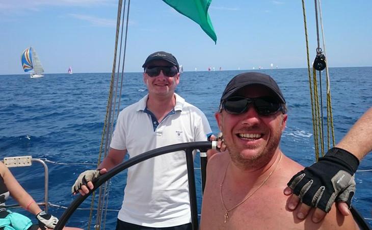 ocean team на giraglia rolex cup 2014