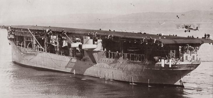 авианосец CV-1 Лэнгли