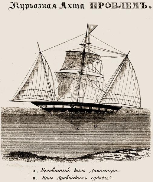 Яхта Problem, из журнала Морской сборник