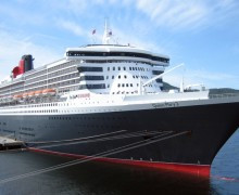Круизный лайнер Queen Mary 2