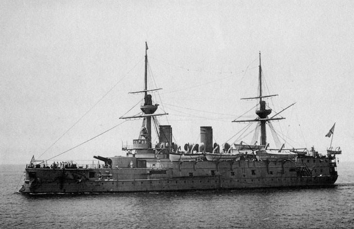 Эскадренный броненосец «Император Николай I»