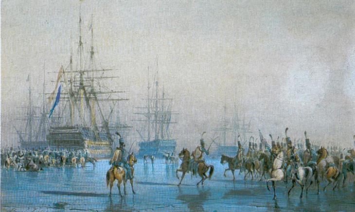 кавалерия и флот