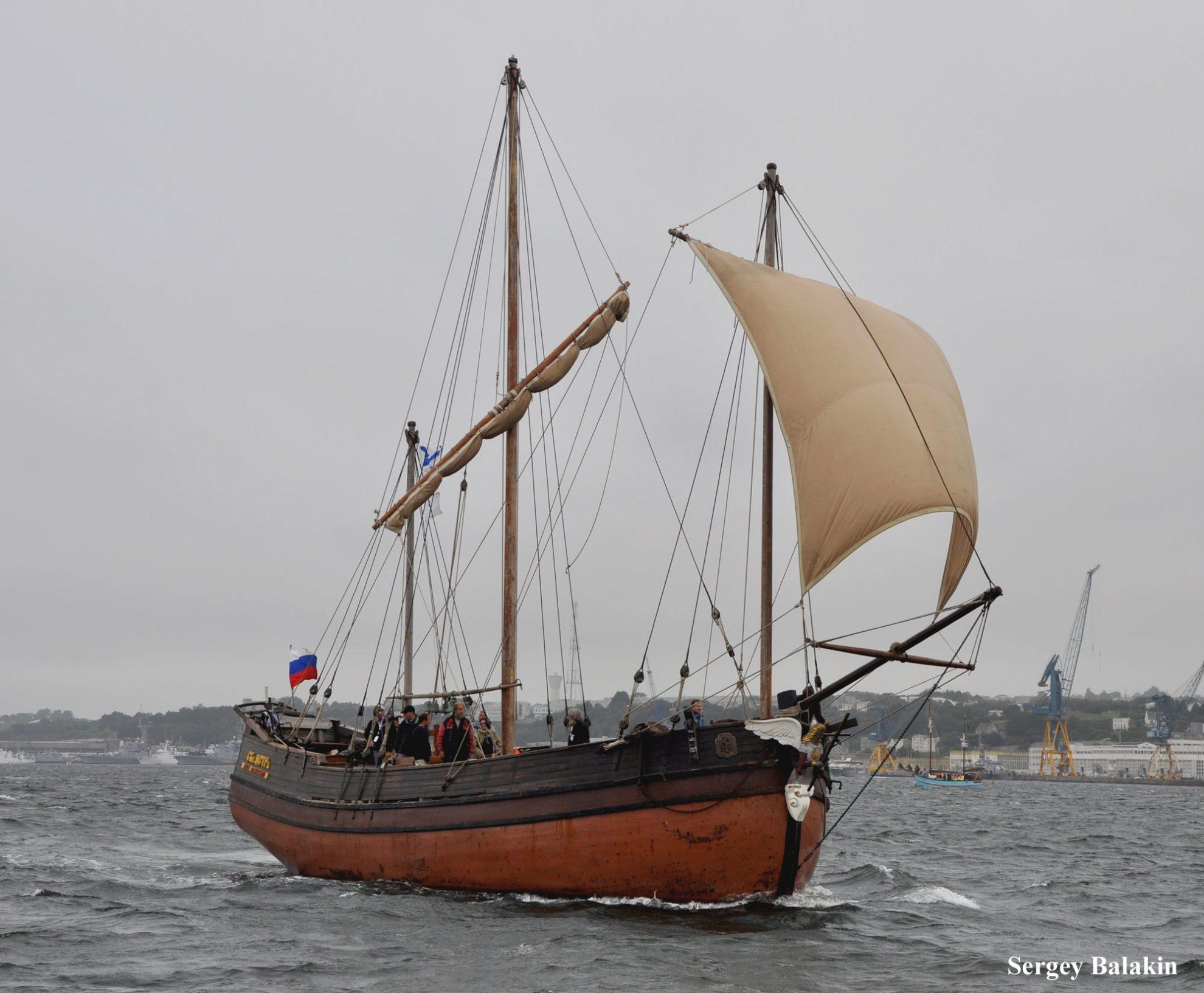Поморская лодья «Святитель Пётр»
