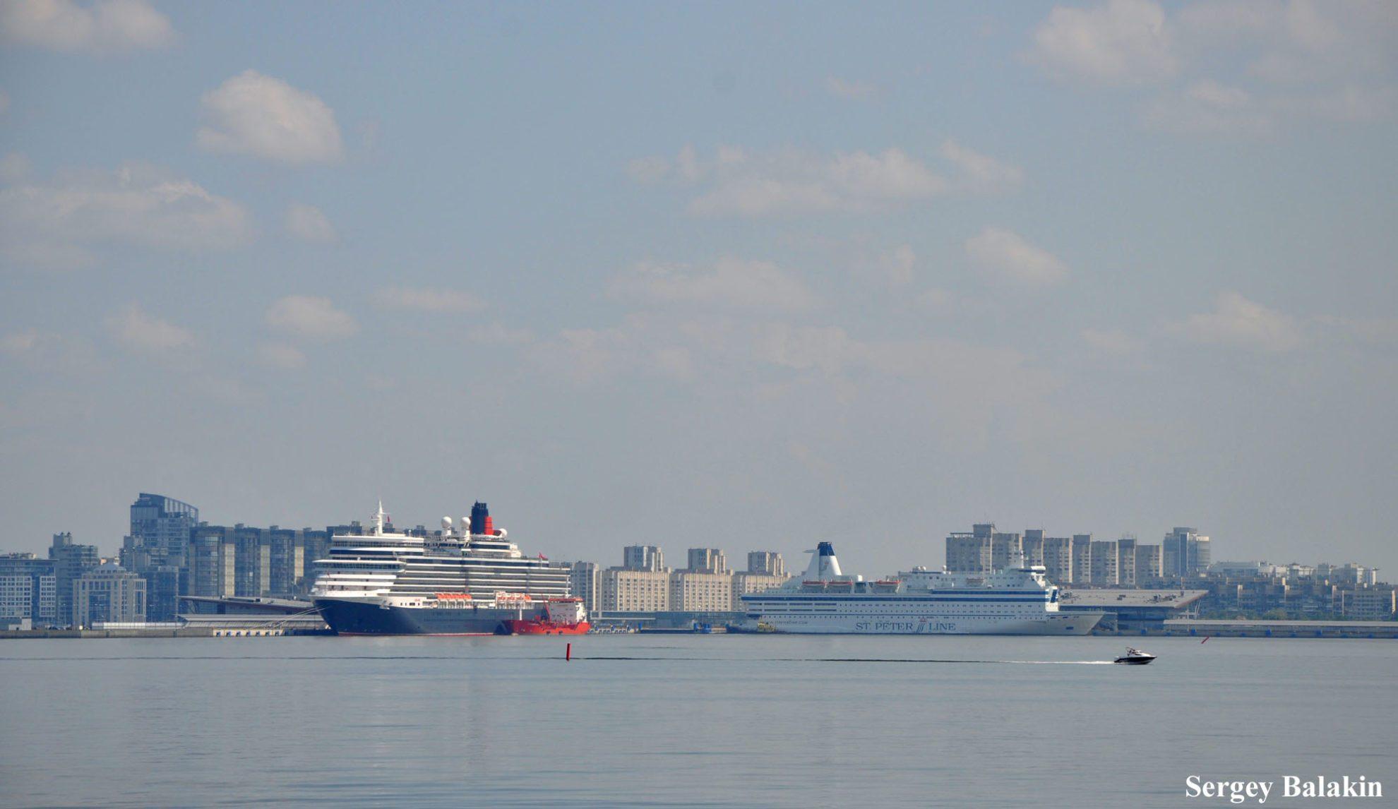 Пассажирский порт Морской фасад Санкт-Петербурга