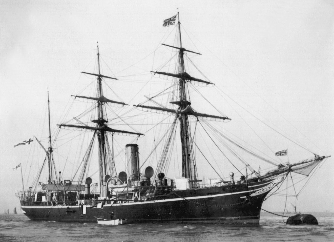 Колониальный шлюп британского флота «Rosario»