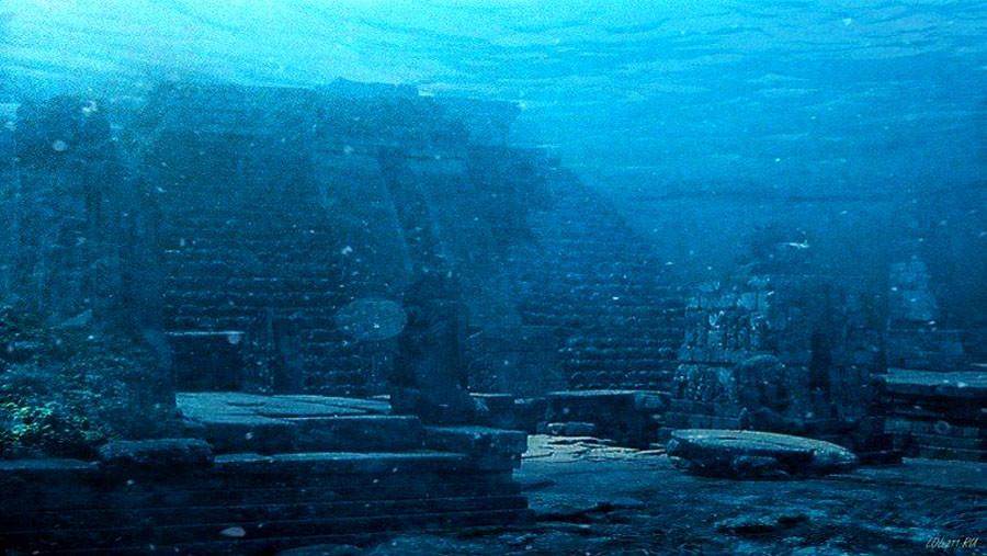 гераклеон – город на дне моря