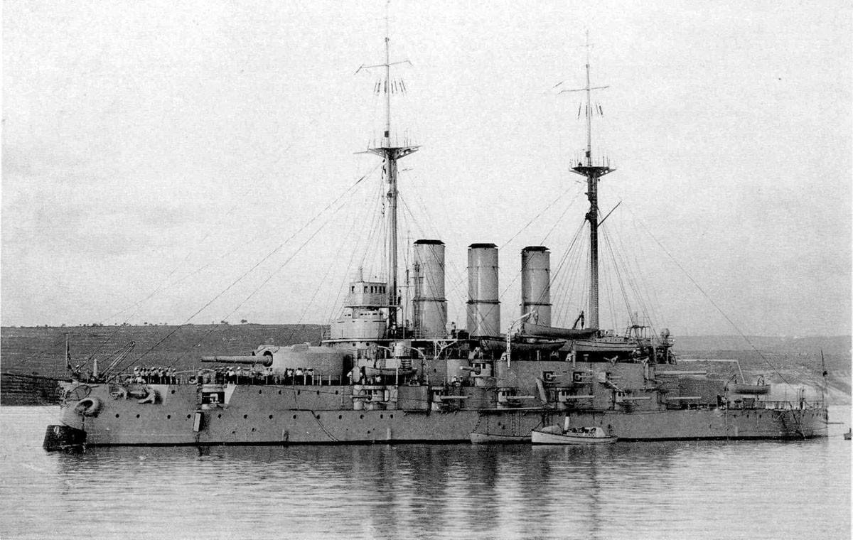 Линкор «Евстафий» - флагманский корабль Черноморского флота