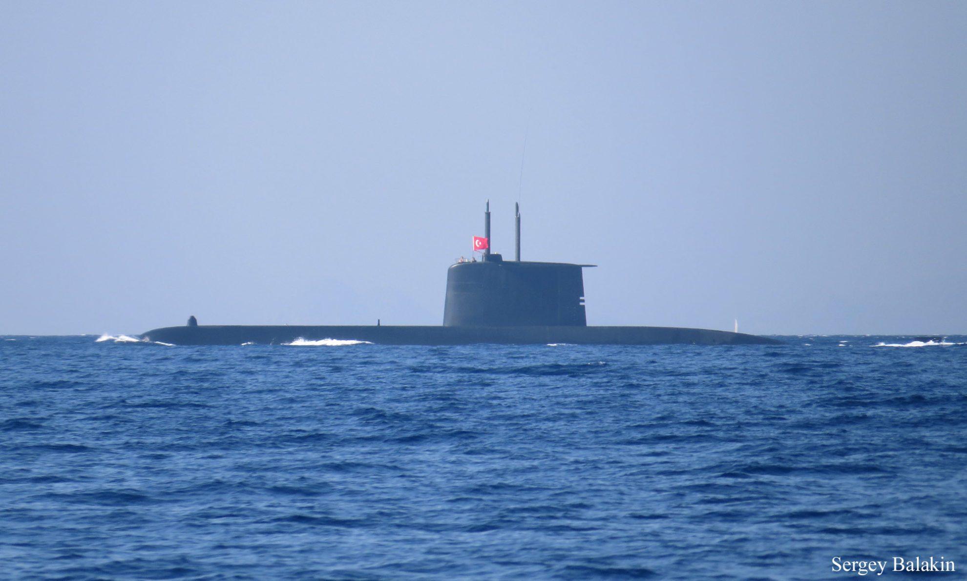 Подводная лодка типа «Превезе» («Preveze»)