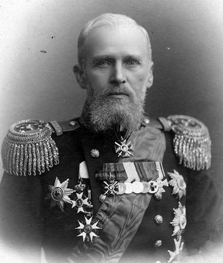 Вице-адмирал А.А. Эбергард