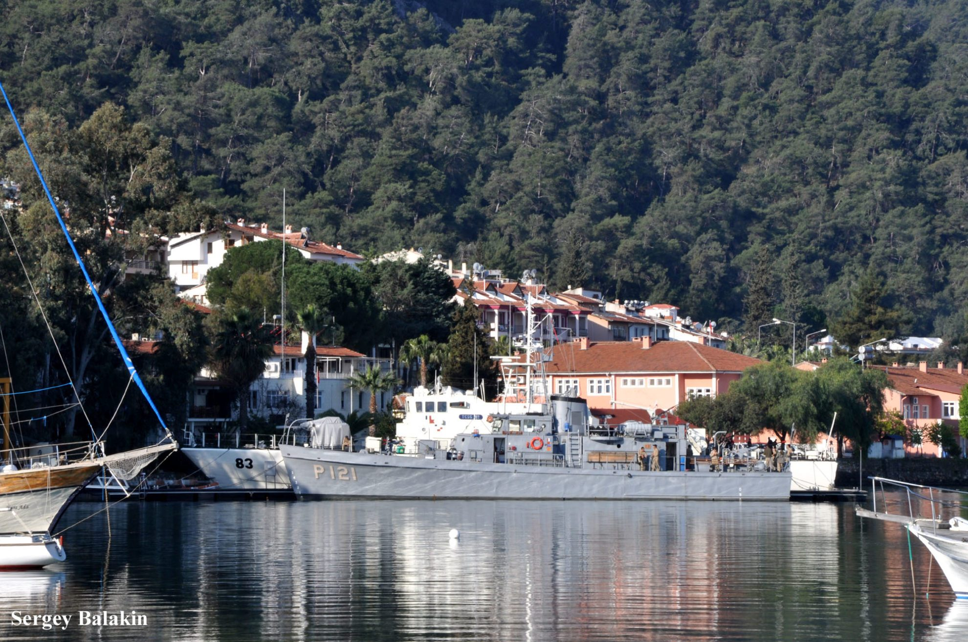 Турецкий патрульный катер