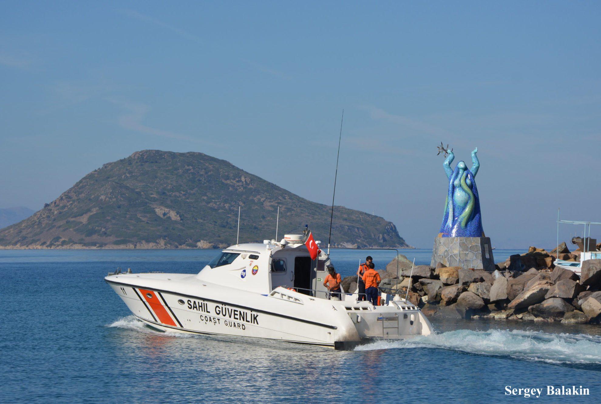 Сторожевой катер Береговой охраны Турции