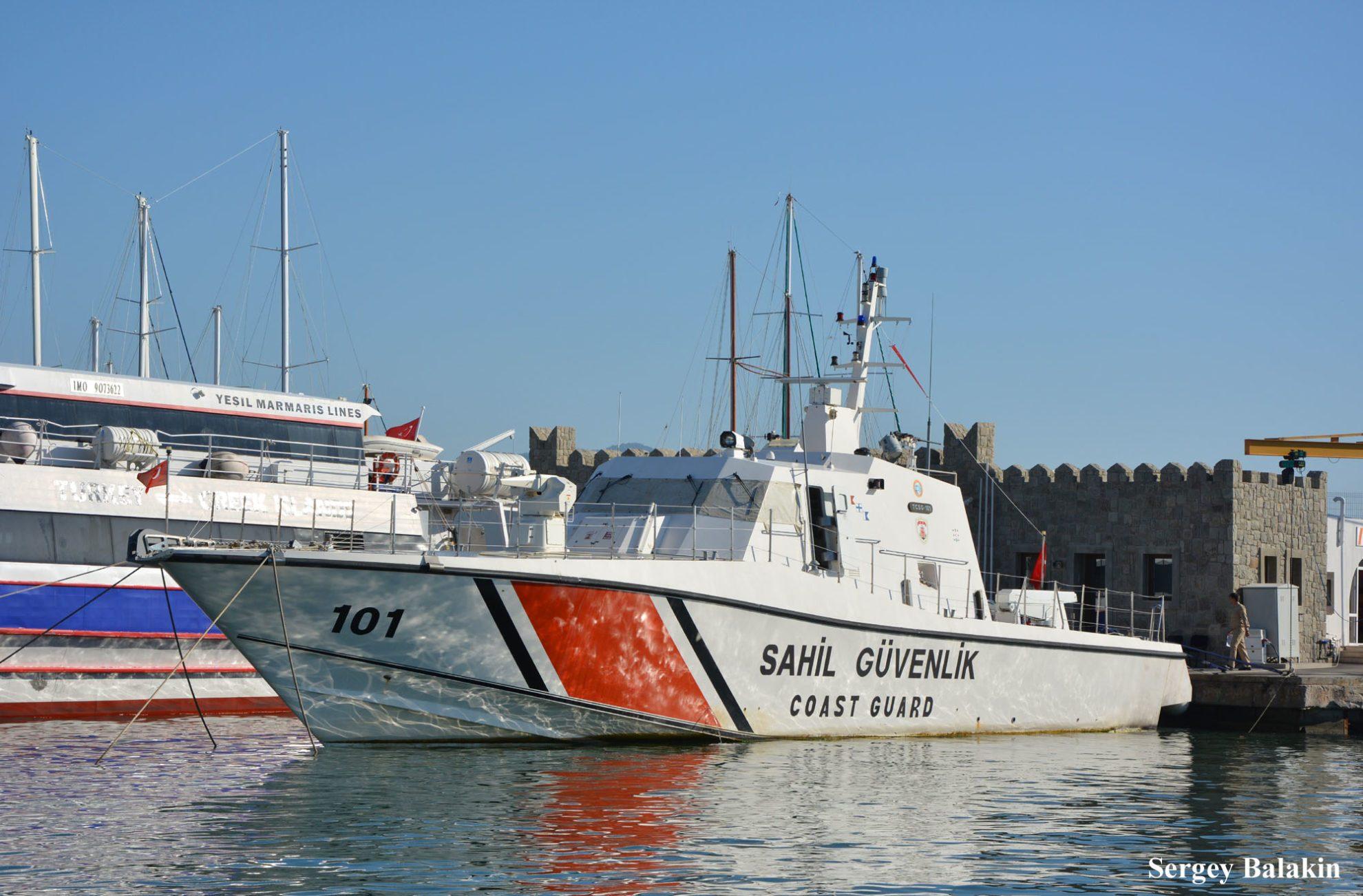 Турецкий катер Береговой охраны