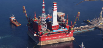 Платформа «Приразломная»: освоение Арктического шельфа России началось!