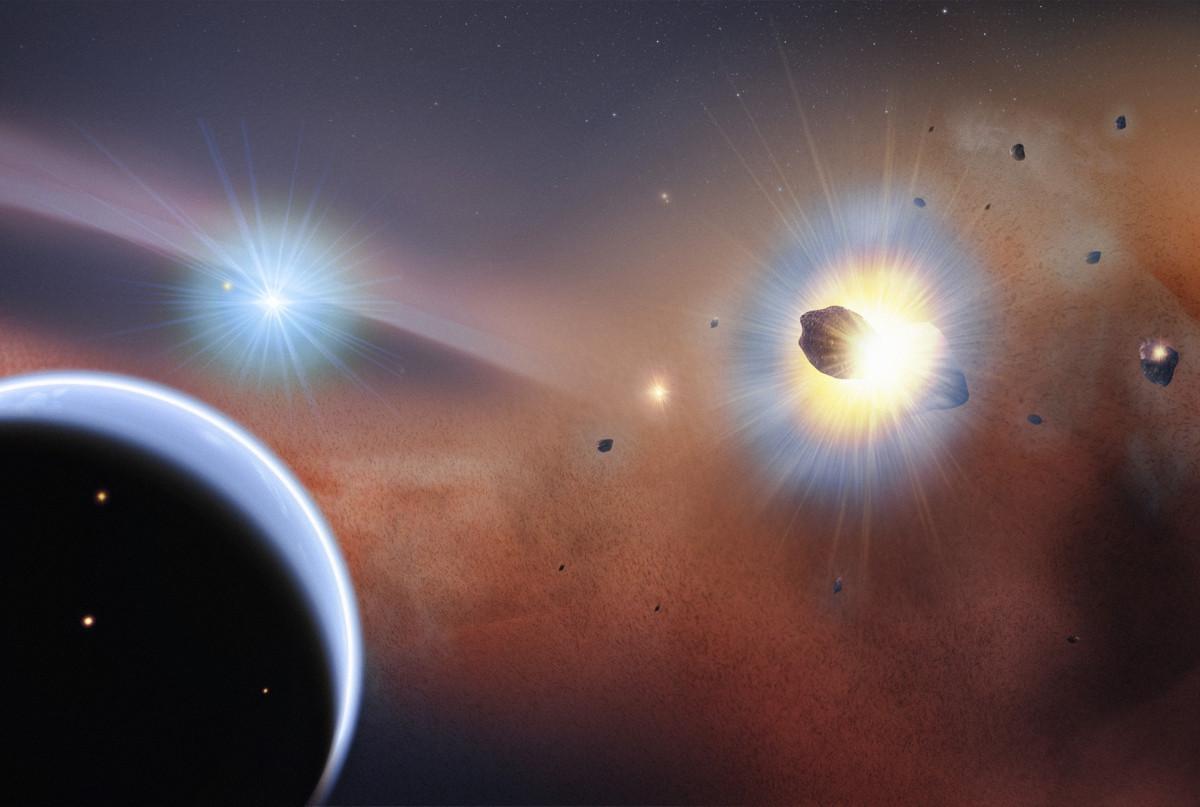 Удар кометы