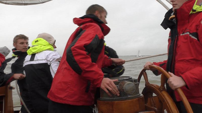 Регата на традиционных голландских парусниках