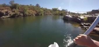 По воде можно ходить аки по суху