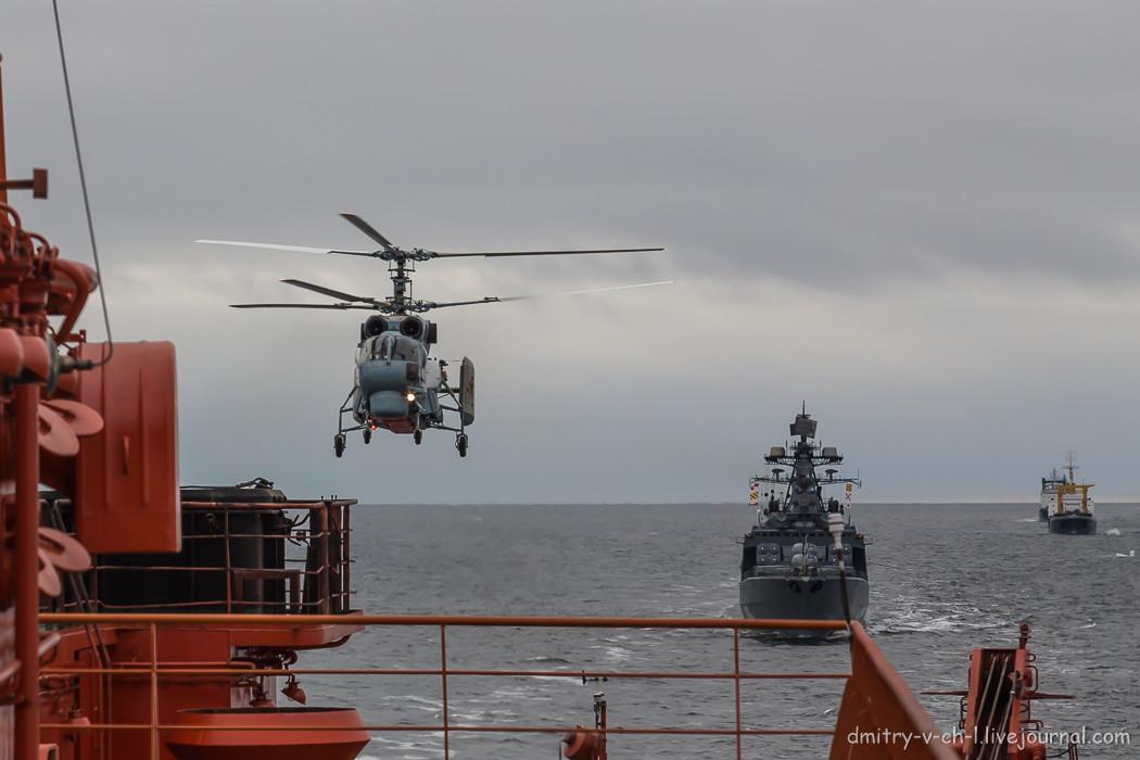 Противолодочный вертолет КА-27
