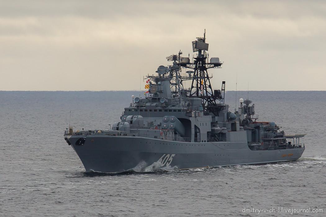 """Большой противолодочный корабль """"Адмирал Левченко"""""""
