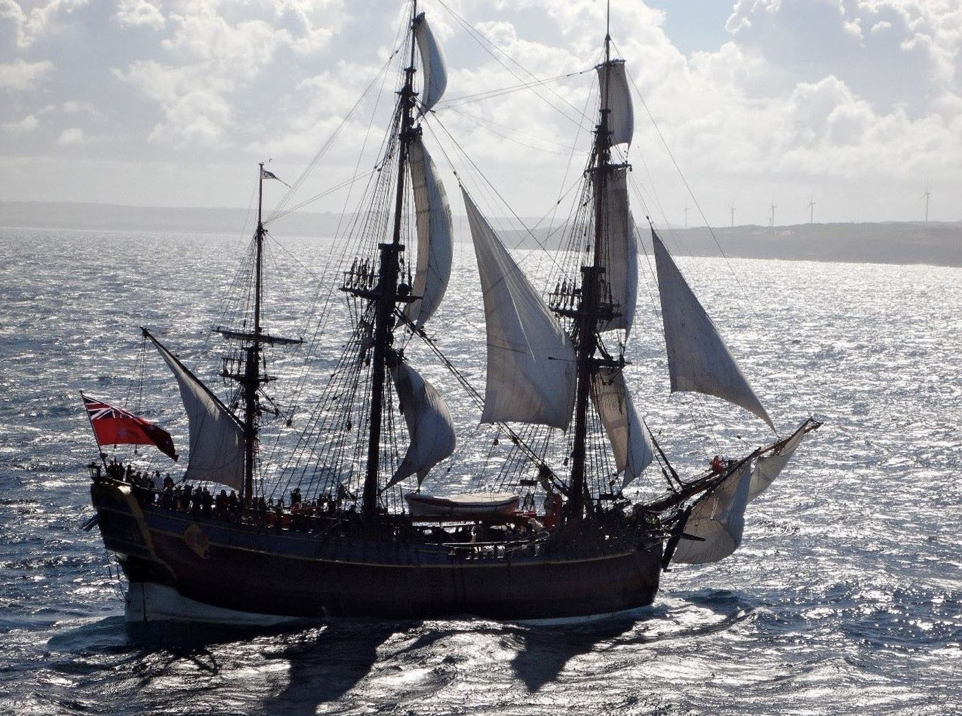 корабль экспедиции Кука «Эндевор»