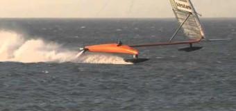 Мировой рекорд скорости парусной ракеты
