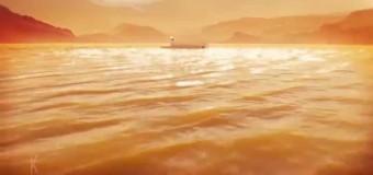 Подводная лодка на спутнике Сатурна