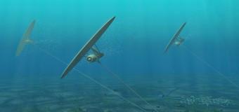 Электростанция из флота подводных кайтов